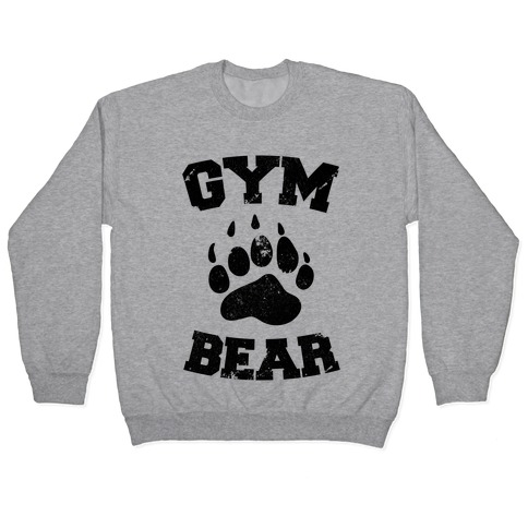 Gym Bear Pullover