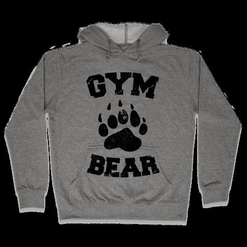 Gym Bear Hooded Sweatshirt