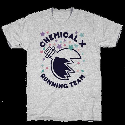 Chemical X Running Team Mens T-Shirt