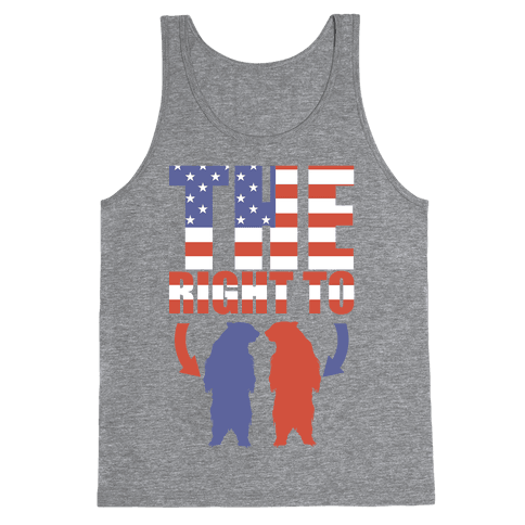 The Right to Bear Arms (Political) Tank Top