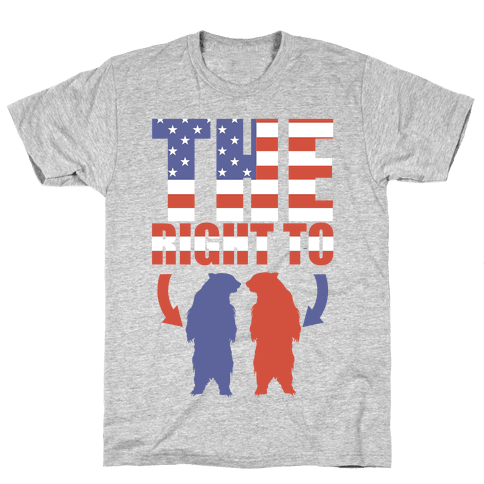 The Right to Bear Arms (Political) Mens T-Shirt