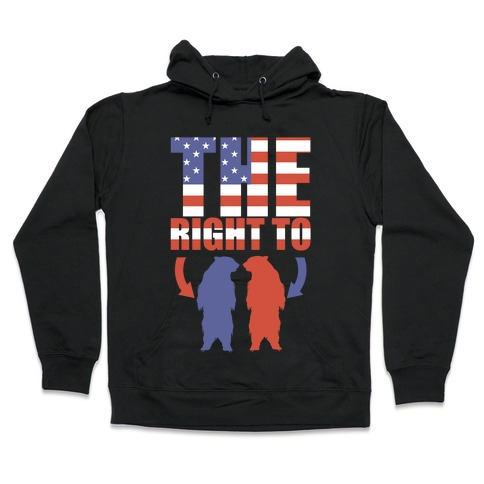 The Right to Bear Arms (Political) Hooded Sweatshirt