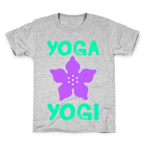 Yoga Into A Yogi Kids T-Shirt