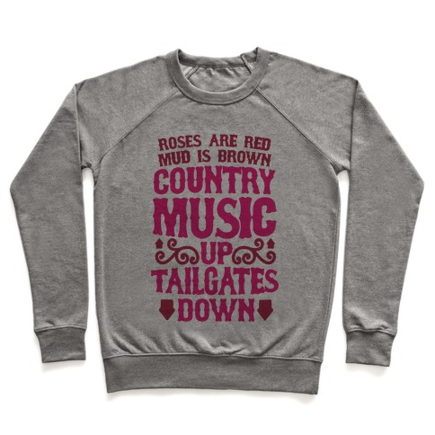 Country Music Up, Tailgates Down Pullover