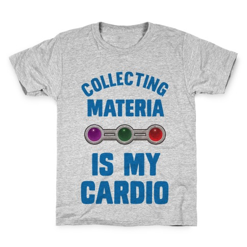 Collecting Materia Is My Cardio Kids T-Shirt