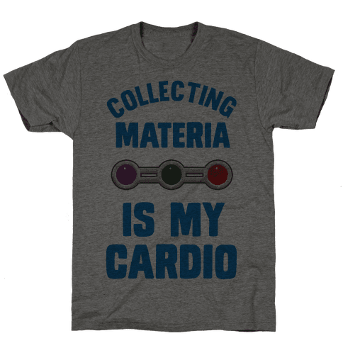 Collecting Materia Is My Cardio