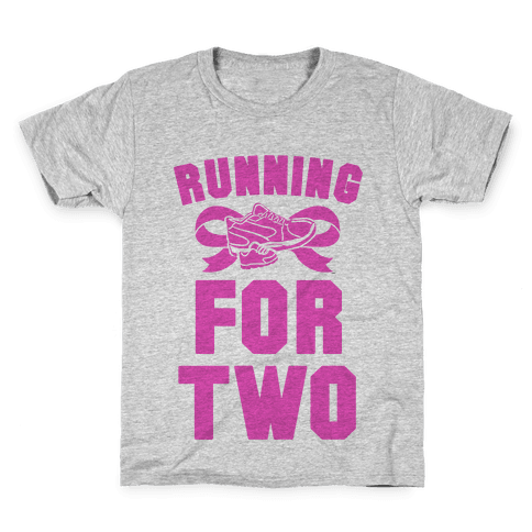 Running for Two Kids T-Shirt