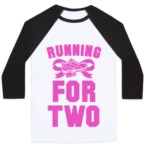 Running for Two Baseball Tee