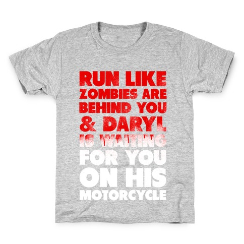 Run Like Daryl is Waiting Kids T-Shirt
