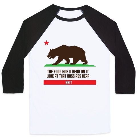 Boss Bear Baseball Tee