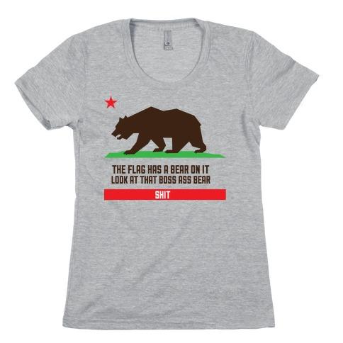 Boss Bear Womens T-Shirt