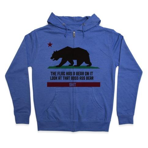 Boss Bear Zip Hoodie