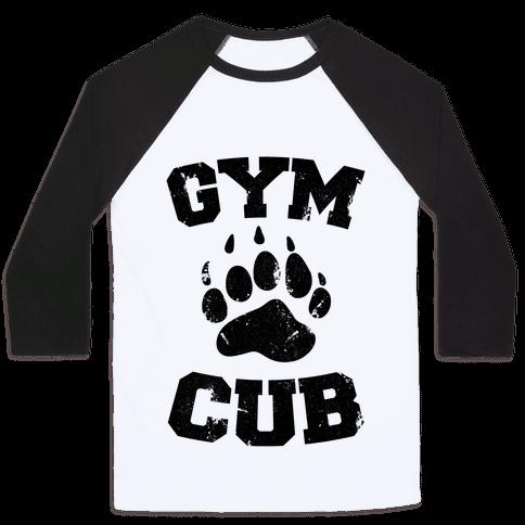 Gym Cub Baseball Tee