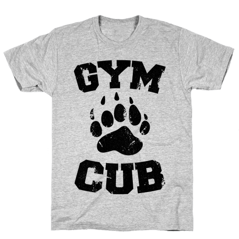 Gym Cub Mens T-Shirt