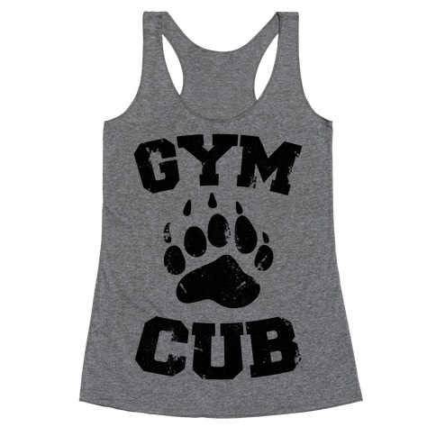 Gym Cub Racerback Tank Top