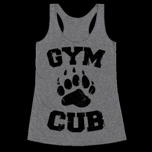 Gym Cub Racerback Tank Top