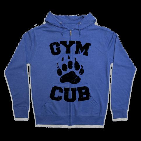 Gym Cub Zip Hoodie