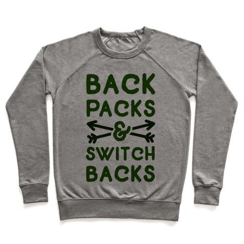 Backpacks and Switchbacks Pullover