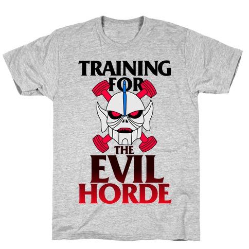 Training For The Evil Horde T-Shirt