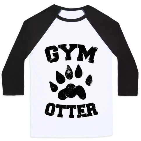 Gym Otter Baseball Tee