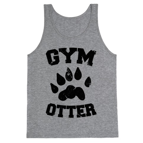 Gym Otter Tank Top