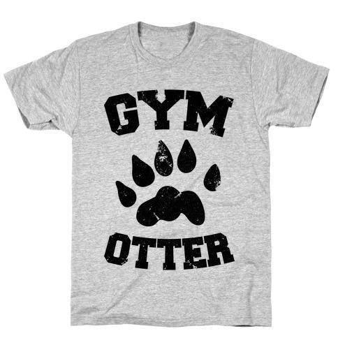 Gym Otter Mens/Unisex T-Shirt