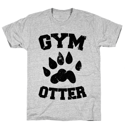 Gym Otter Mens T-Shirt