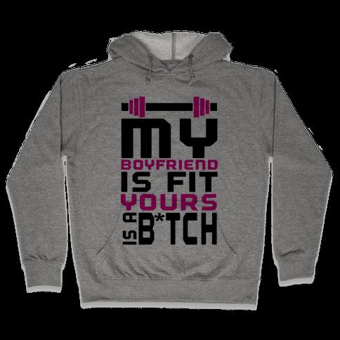 Fit Boyfriend Hooded Sweatshirt