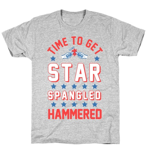Star Spangled Hammered Mens T-Shirt