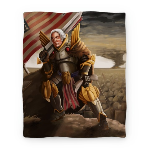 George Washington Paladin (Blanket) Blanket