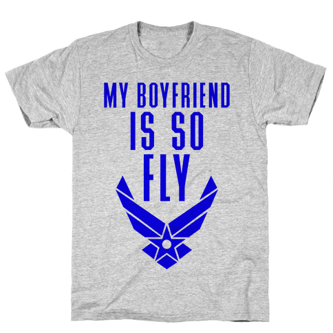 My Boyfriend Is So Fly (Air Force Tank) Mens T-Shirt