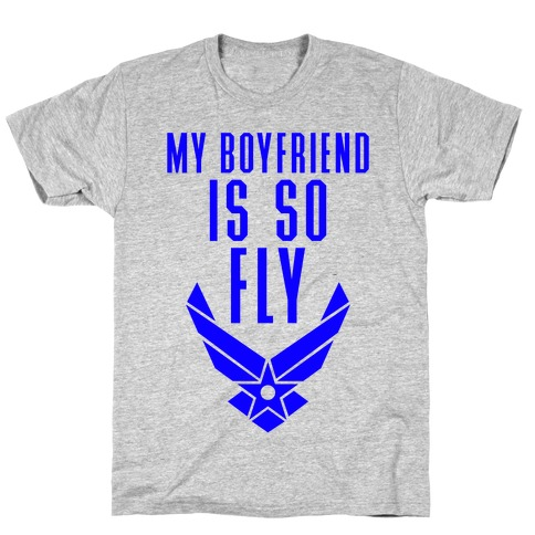 My Boyfriend Is So Fly (Air Force Tank) Mens T-Shirt