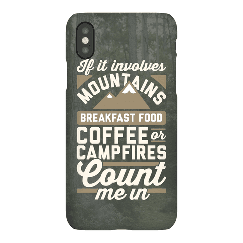 Count Me In Phone Case