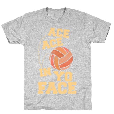 Ace Ace (black) Mens/Unisex T-Shirt