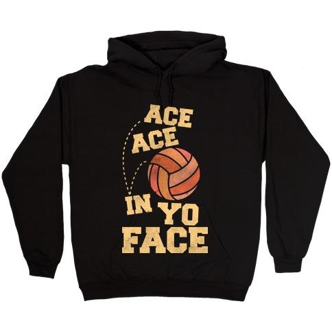 Ace Ace (black) Hooded Sweatshirt