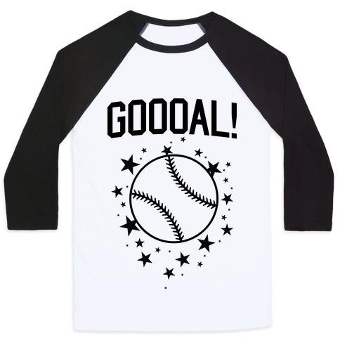 GOOOAL! Baseball Tee