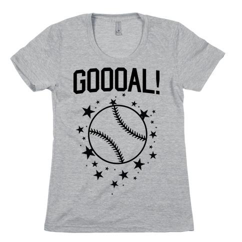 GOOOAL! Womens T-Shirt