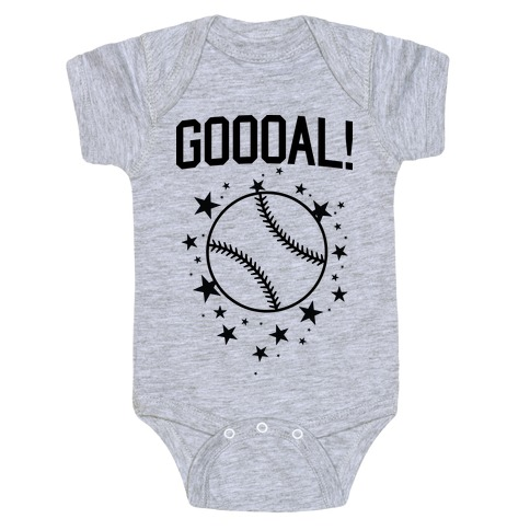 GOOOAL! Baby Onesy