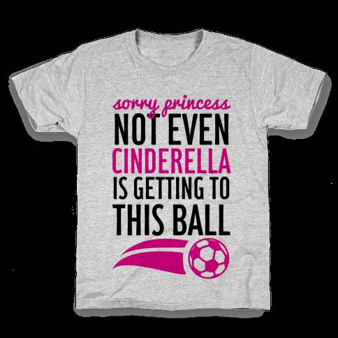 Sorry Princess Kids T-Shirt
