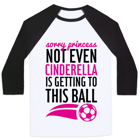 Sorry Princess Baseball Tee