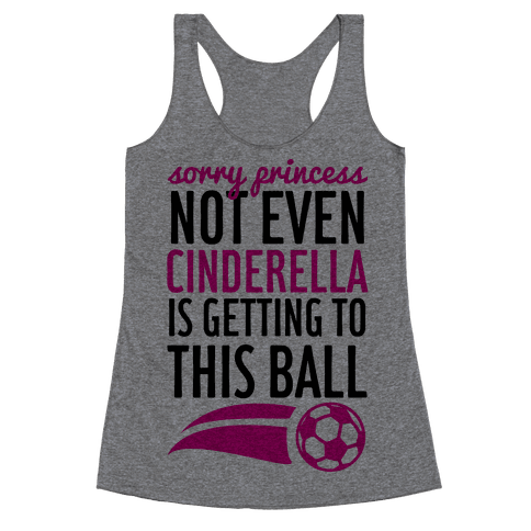 Sorry Princess Racerback Tank Top