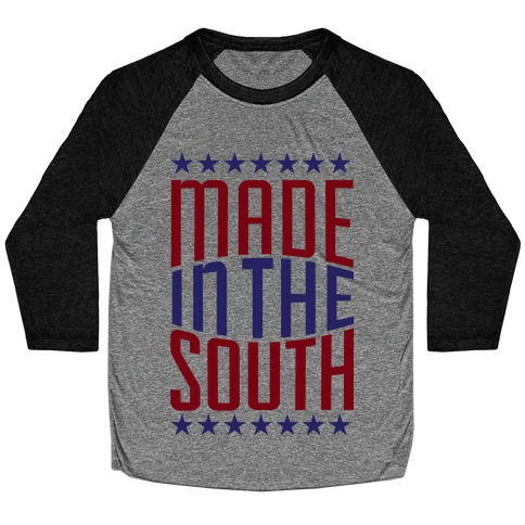 Made in the South Baseball Tee