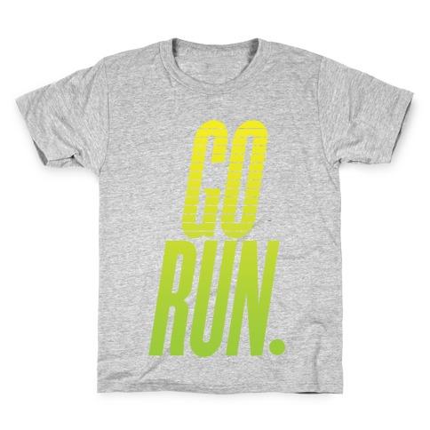 Go Run Kids T-Shirt