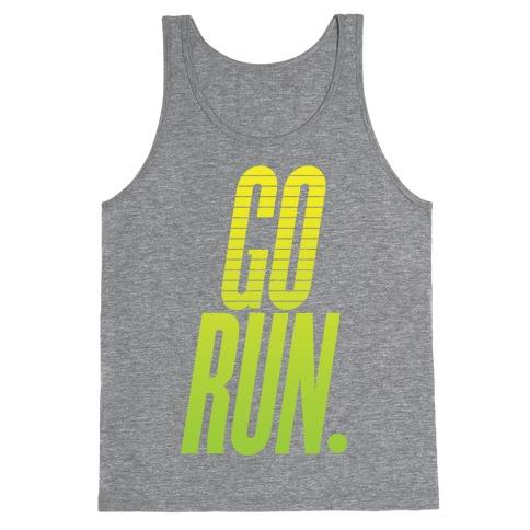 Go Run Tank Top