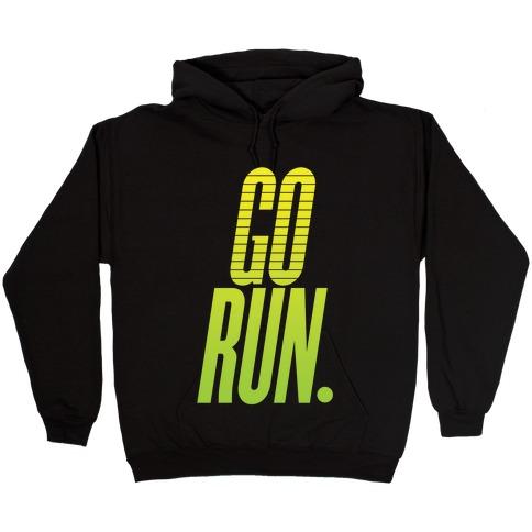 Go Run Hooded Sweatshirt