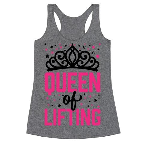 Queen Of Lifting Racerback Tank Top