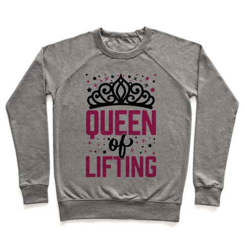 Queen Of Lifting Pullover
