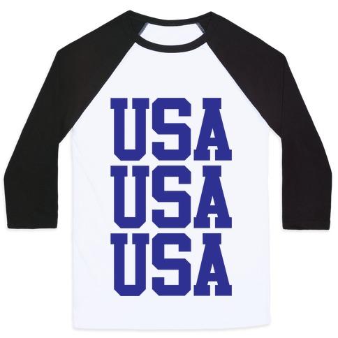USA Baseball Tee