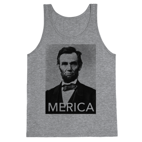 Lincoln's Merica Tank Top
