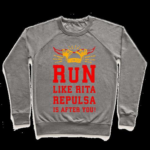 RUN! Like Rita Repulsa is after you! Pullover